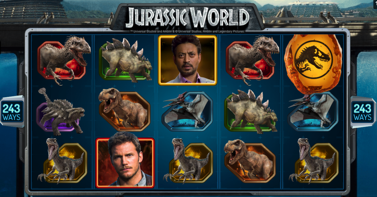 Jurassic World von Microgaming