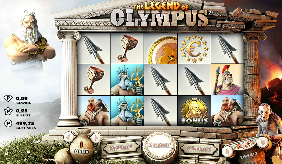 The Legend of Olympus Microgaming